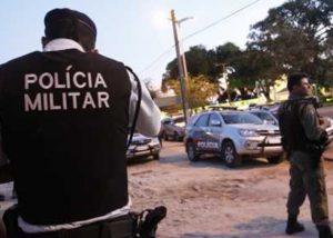 Equipes de Polícia Civil e Militar.