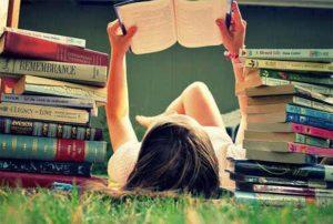 Gostar de ler pode ser uma diversão.